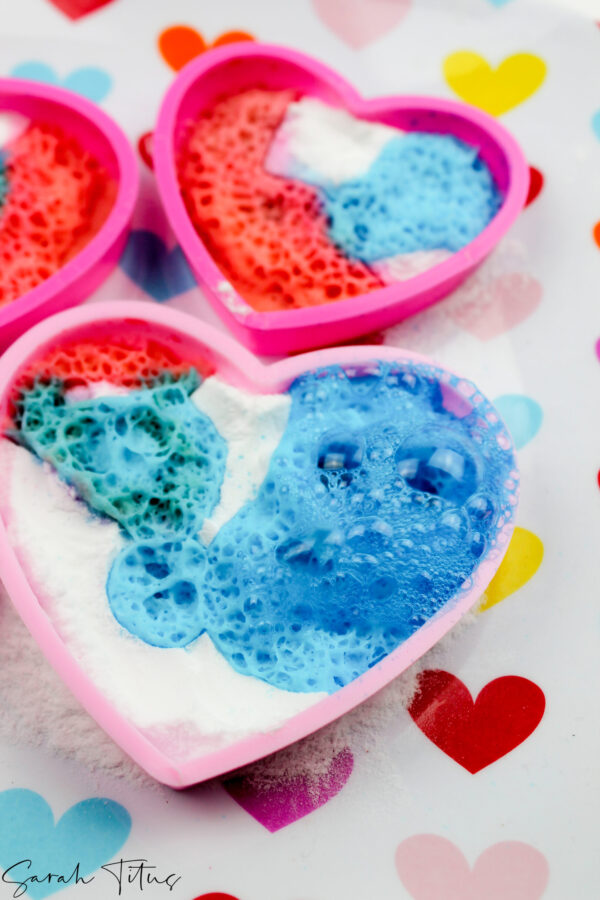 Enjoyable Cute Valentine Heart Craft With Baking Soda
