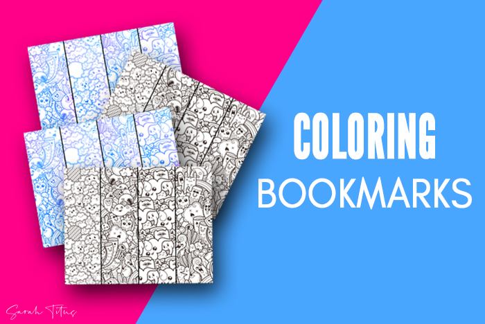 Free Bookmarks To Color For Kids