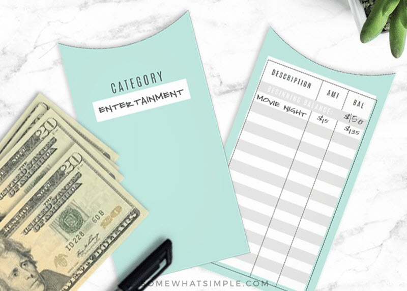 If you have an overspending habit the budget envelope system might be just the thing you need to make sure you always stick within the allocated budget for each category.