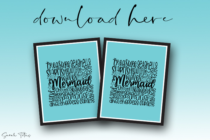 Pretty Ocean Wall Art Printables For You