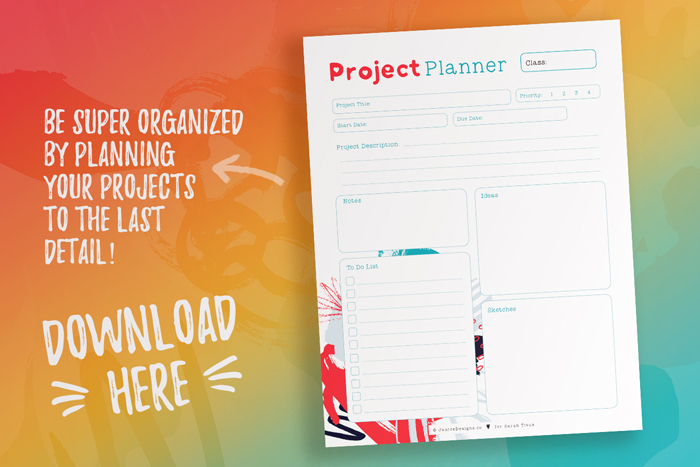 Free Project Planners_Student Planner