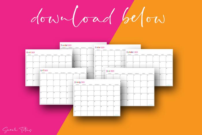 Beautiful Artwork 2021 Printable Calendars For Free Editable Calendar
