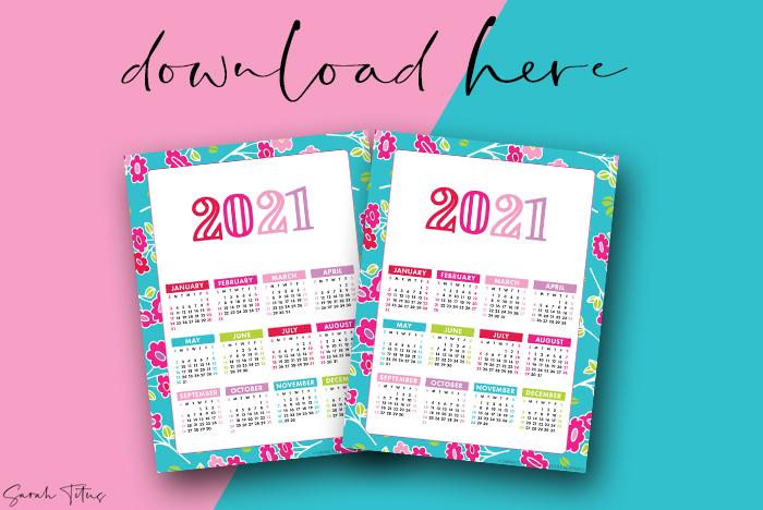 Beautiful Artwork 2021 Printable Calendars For Free Full Calendar