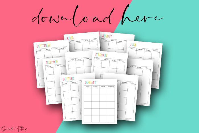 Beautiful Artwork 2021 Printable Calendars For Free Student Planner