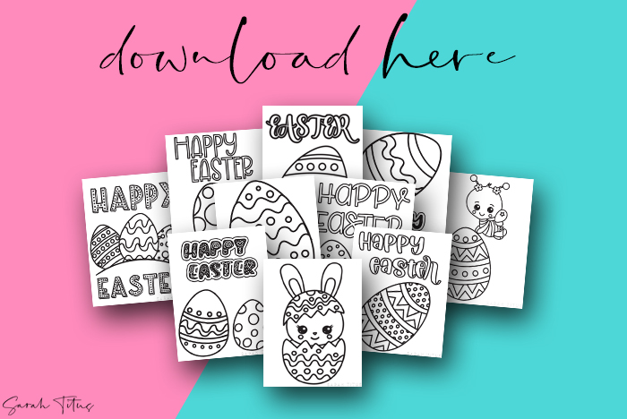Cutest Art Easter Printable Coloring Pages Eggs