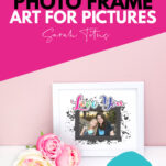 Looking for printable photo frames? These cute free photo frames design templates are perfect for displaying pictures of special moments with friends, kids or family! Why not use them as lovely gift ideas too! #crafts