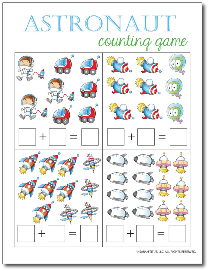 Addition-Counting-Game-Astronaut