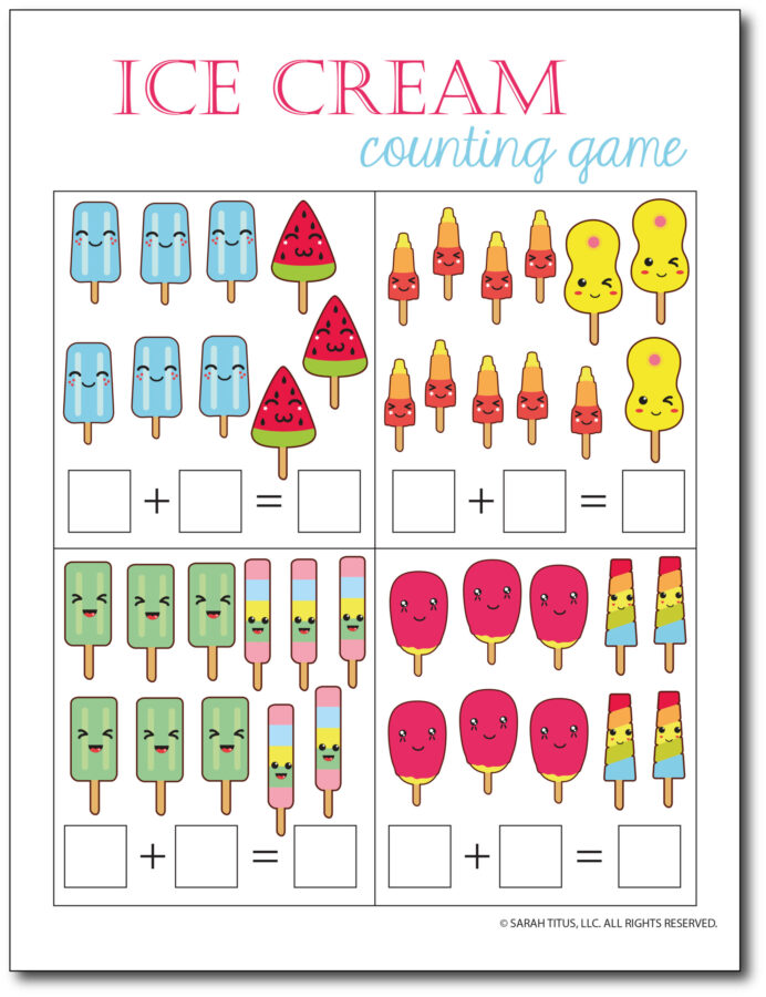 Addition-Counting-Game-Ice-Cream