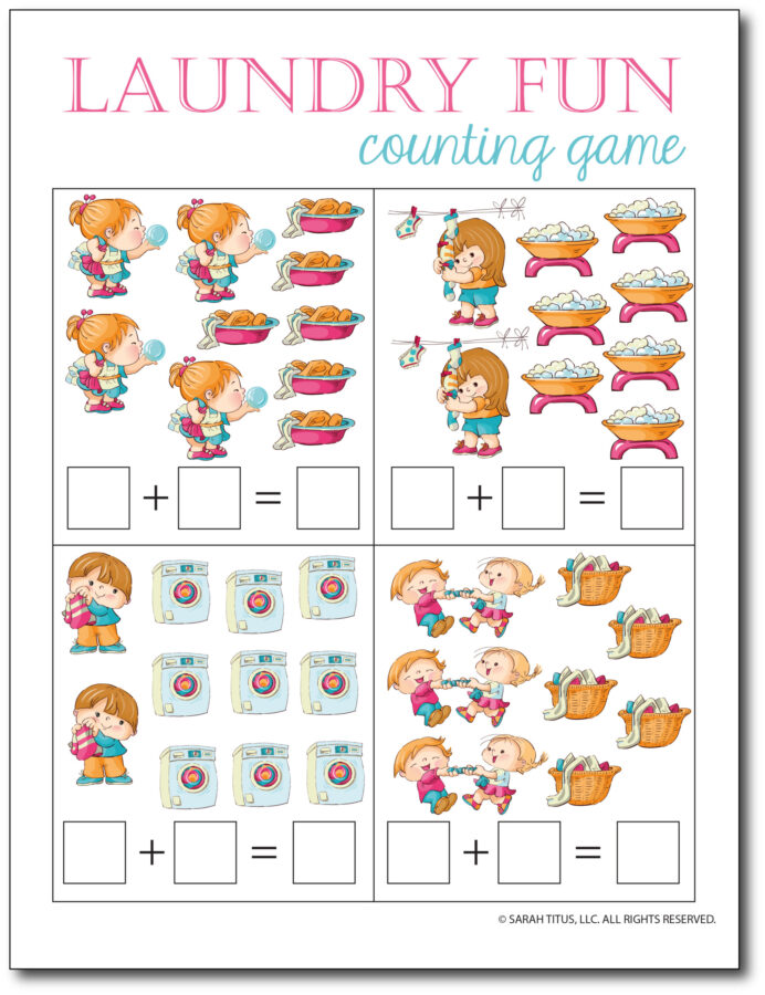 Addition-Counting-Game-Laundry-Fun