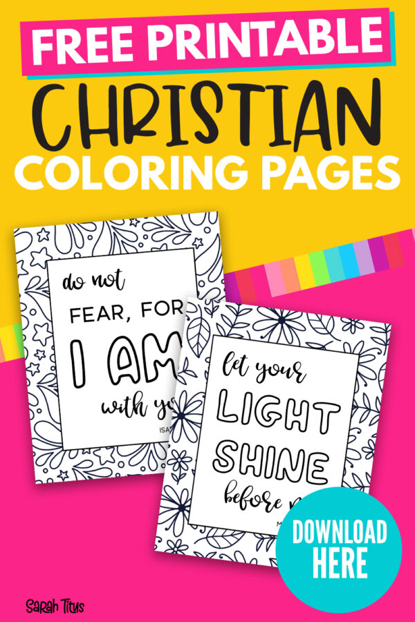 - Christian Coloring Pages - Sarah Titus From Homeless To 8-Figures