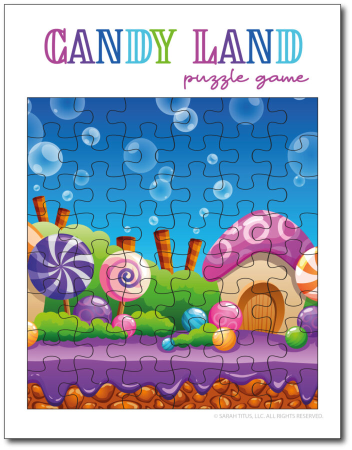 Candy-Land-Puzzle