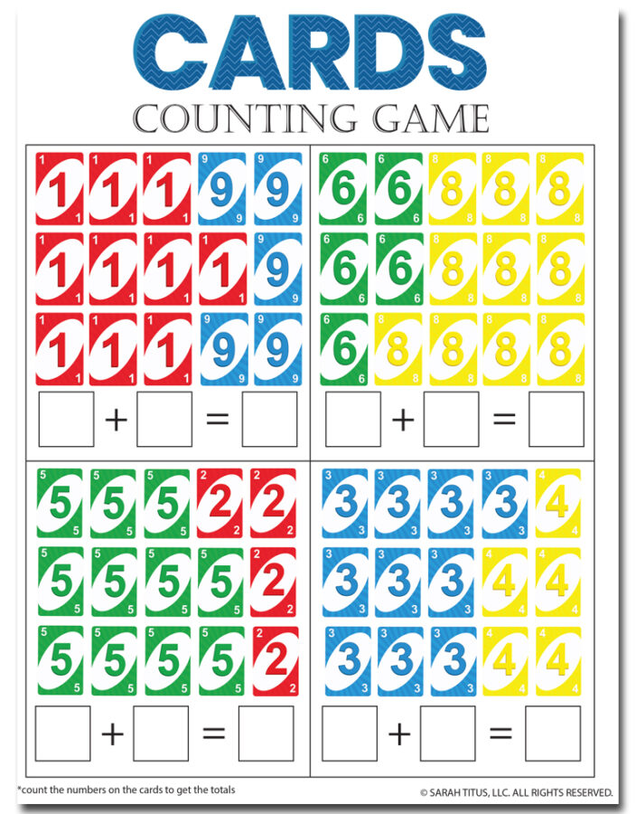 Cards Counting Game