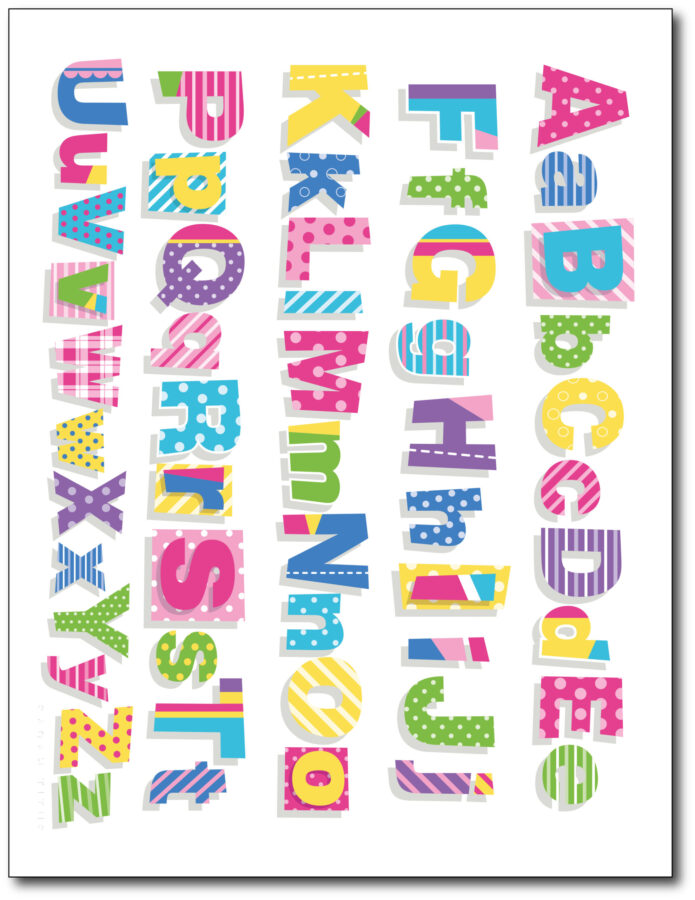 Colorful-Classroom-Alphabet-Printable-Wall-Art-Free-White-Upper-Lower
