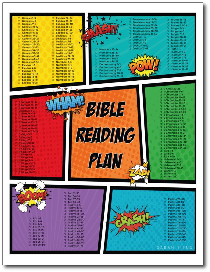 Comic-Bible-Reading-Plan