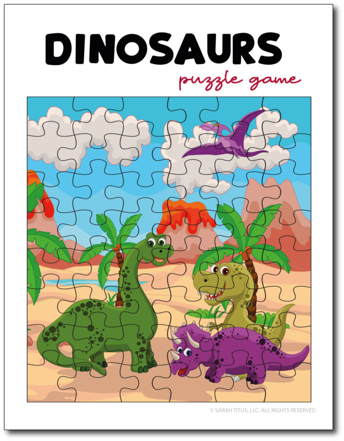 Dinosaurs-Puzzle