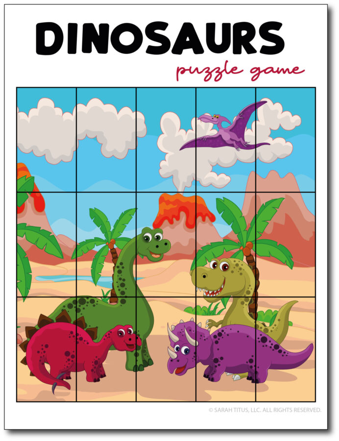 Dinosaurs-Puzzle-Game