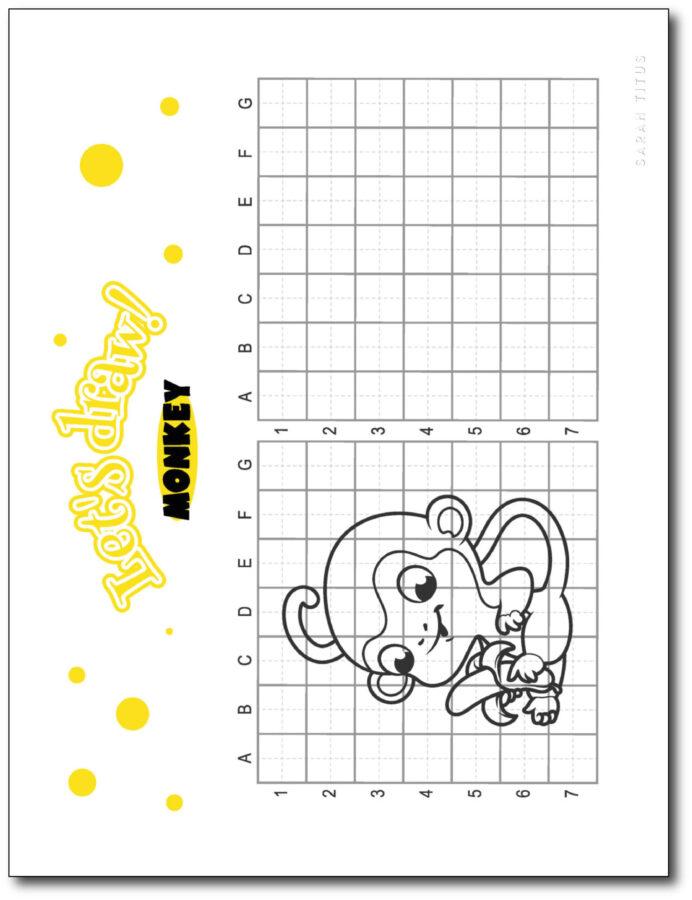 Draw-Monkey-Step-By-Step