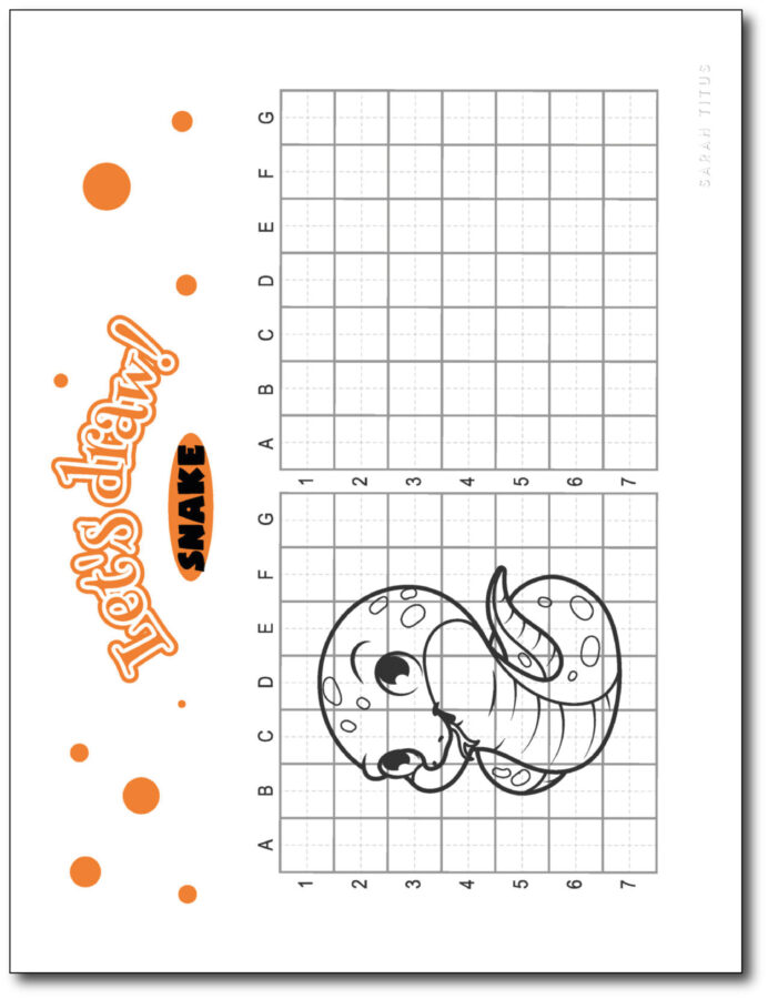 Draw-Snake-Step-By-Step