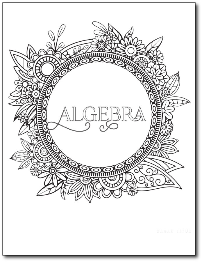 Floral-Art-Coloring-Printable-Binder-Dividers-And-Covers-For-Students