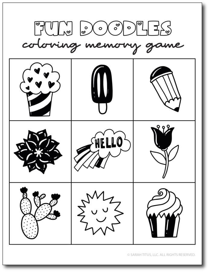 Fun-Doodles-Coloring-Memory-Game