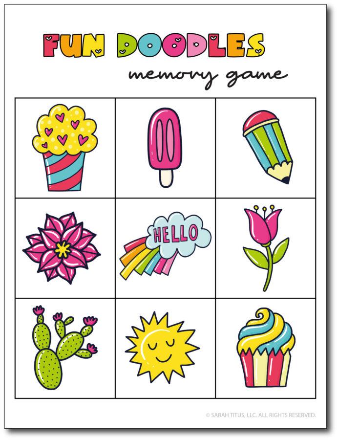 Fun-Doodles-Memory-Game