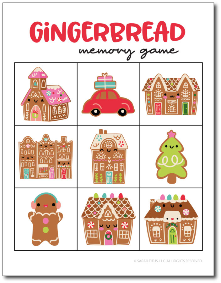 Gingerbread-Memory-Games