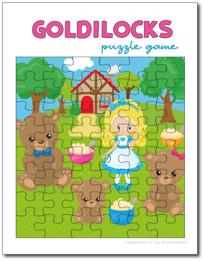 Goldilocks-Puzzle-Game