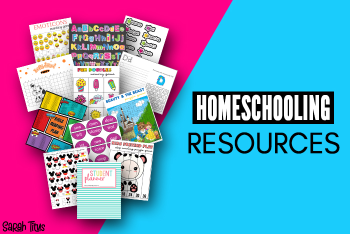 Ultimate Collection of Kids Educational Printables To Help With Homeschooling