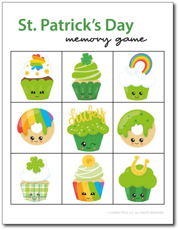 Memory-Game-St-Patricks