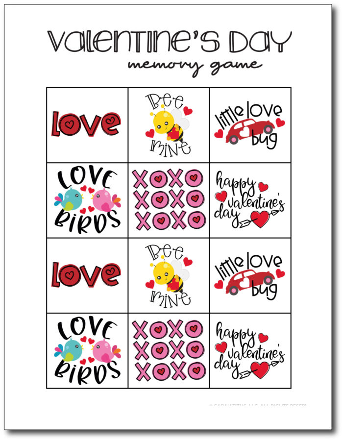 Memory-Game-Valentines-Day