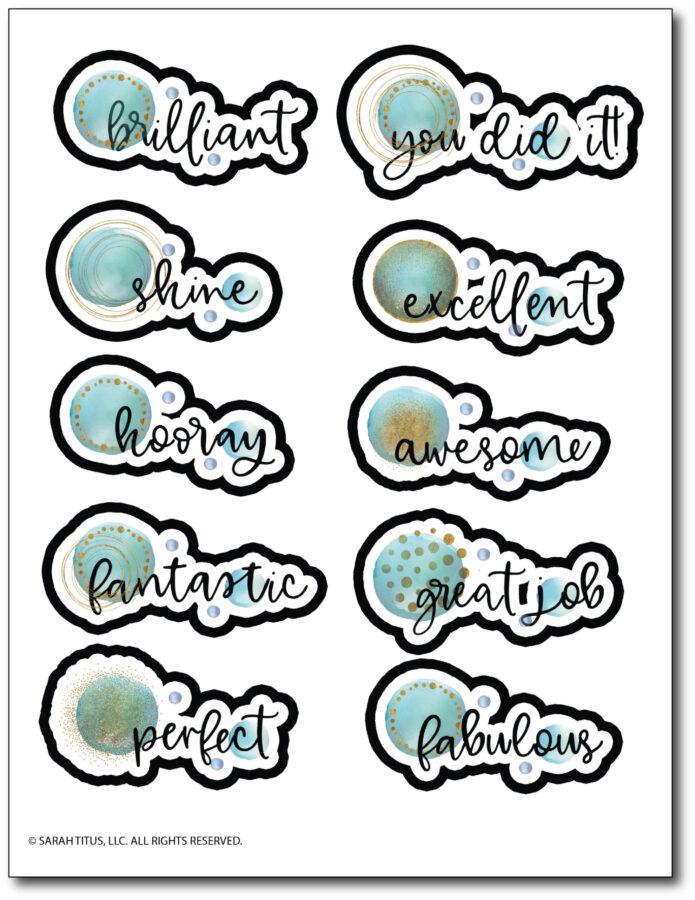 Motivational-Planner-Stickers