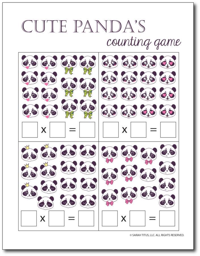Multiplication-Math-Games-Cute-Pandas