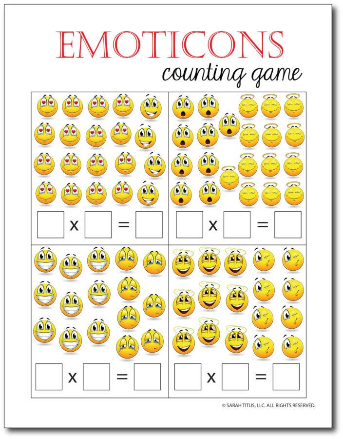 Multiplication-Math-Games-Emoticons