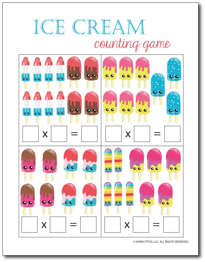 Multiplication-Math-Games-Ice-Cream