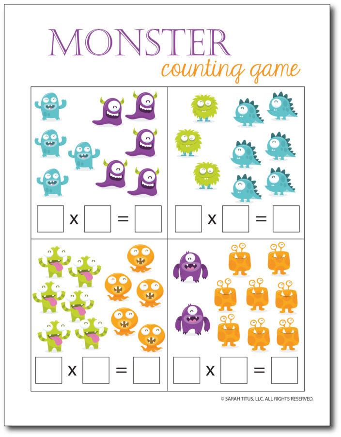Multiplication-Math-Games-Monster