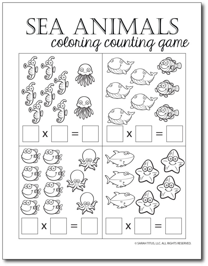 Multiplication-Math-Games-Sea-Animals-Coloring