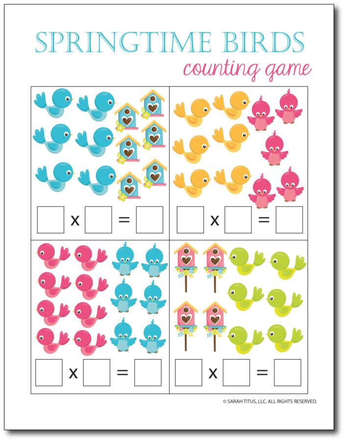 Multiplication-Math-Games-Springtime-Birds