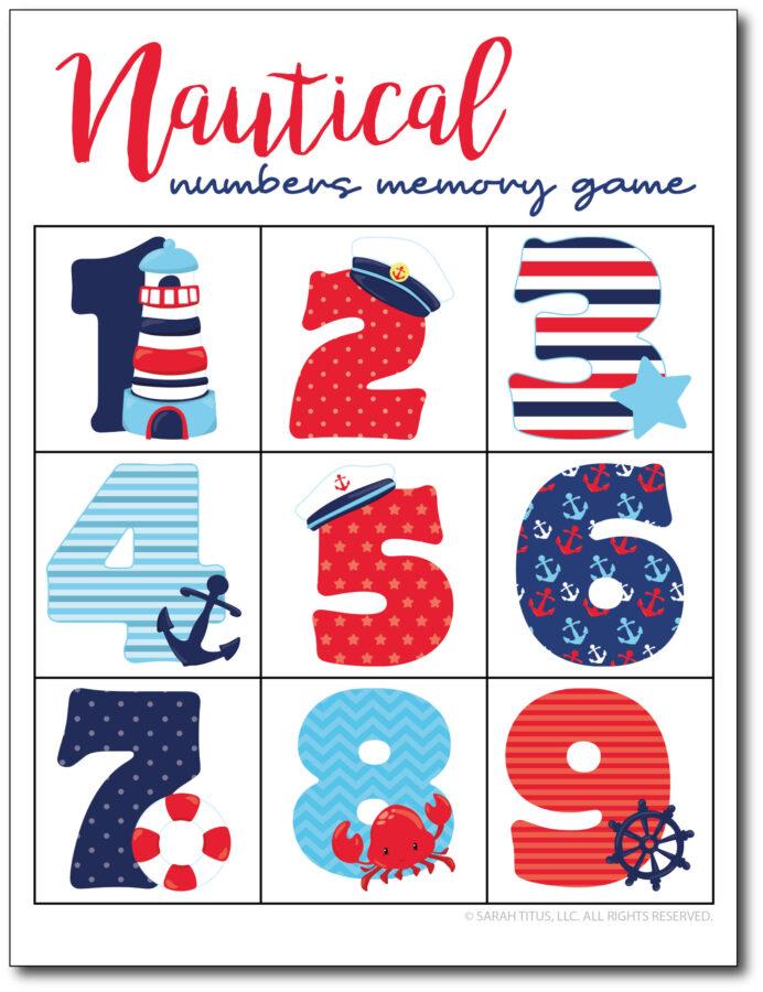 Nautical-Numbers-Memory-Game