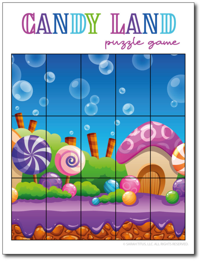 Puzzle-Game-Candy-Land