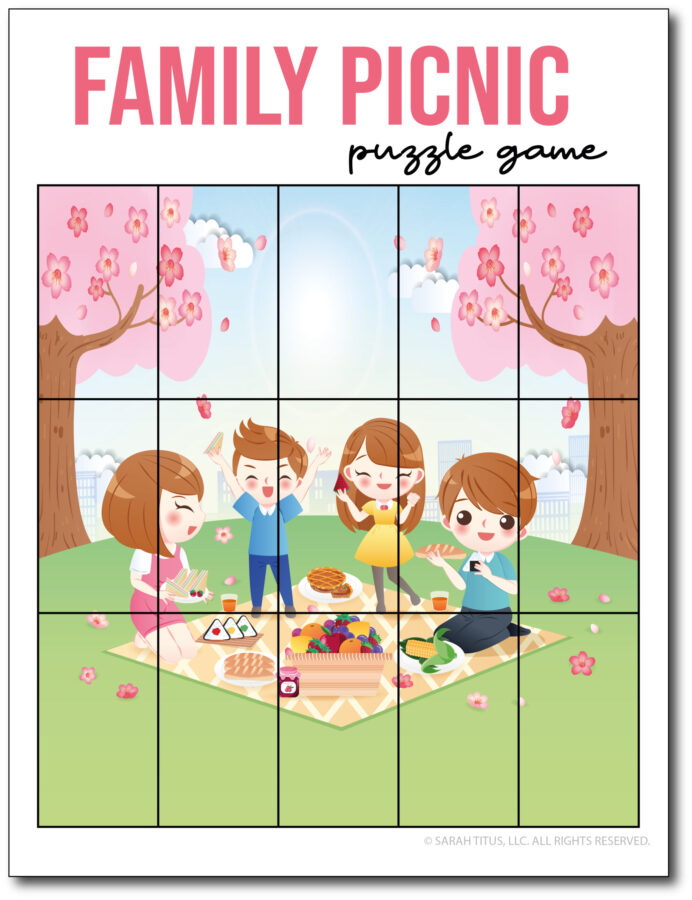 Puzzle-Game-Family-Picnic