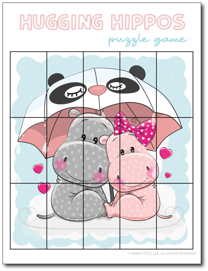 Puzzle-Game-Hugging-Hippos
