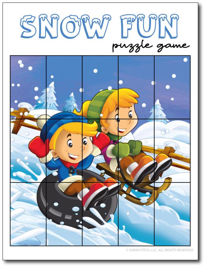 Puzzle-Game-Snow-Fun