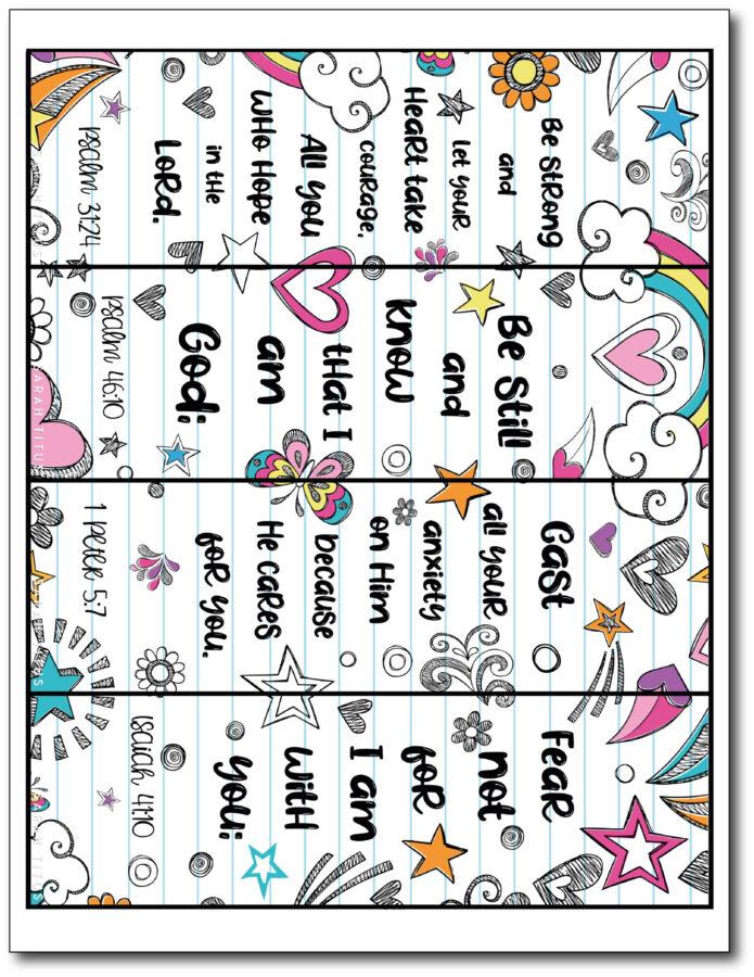 Scripture-Verse-Bookmarks