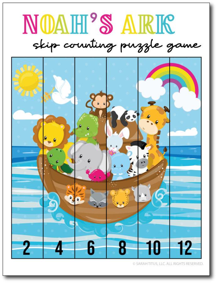 Skip-Counting-Noahs-Ark-2s