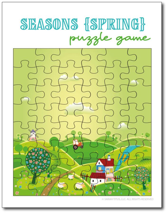 Spring-Season-Puzzle-Game