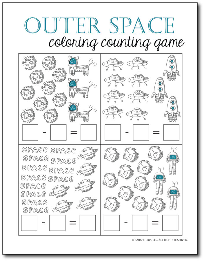 Subtraction-Printables-Outer-Space