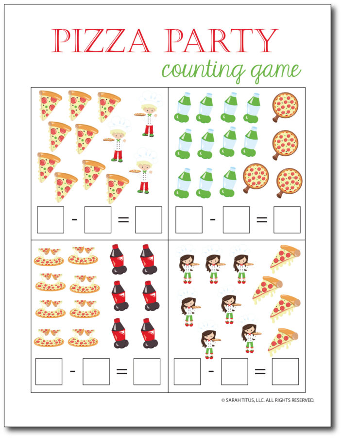 Subtraction-Printables-Pizza