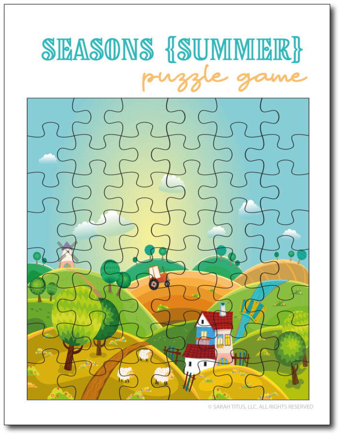 Summer-Season-Puzzle
