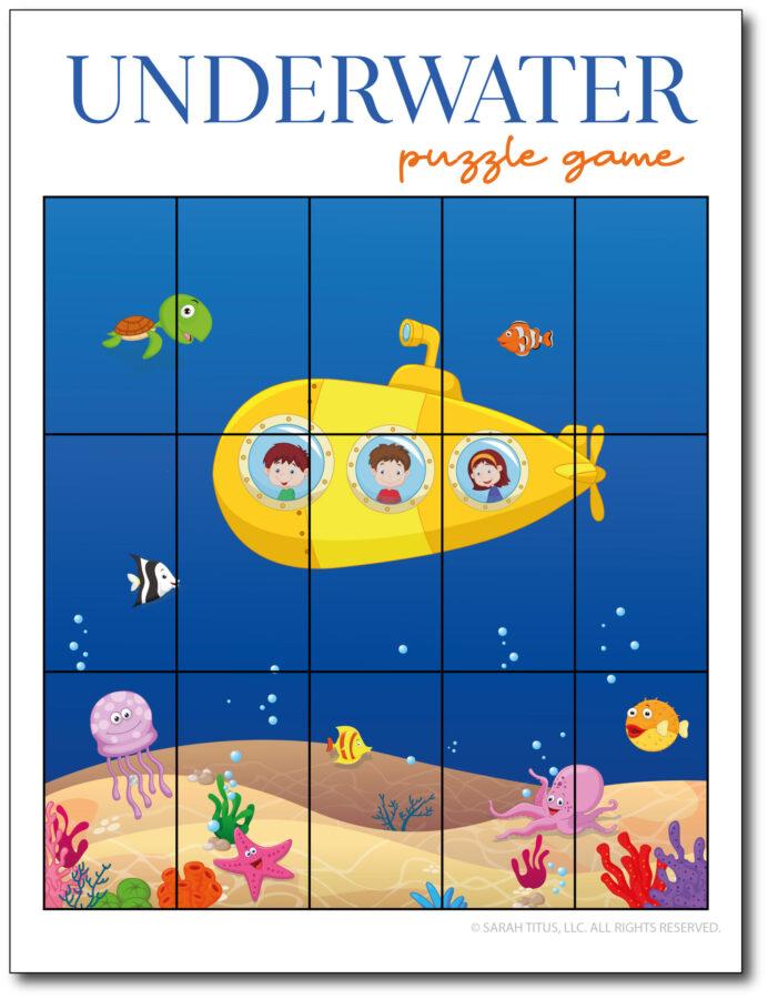 Underwater-Puzzle-Game