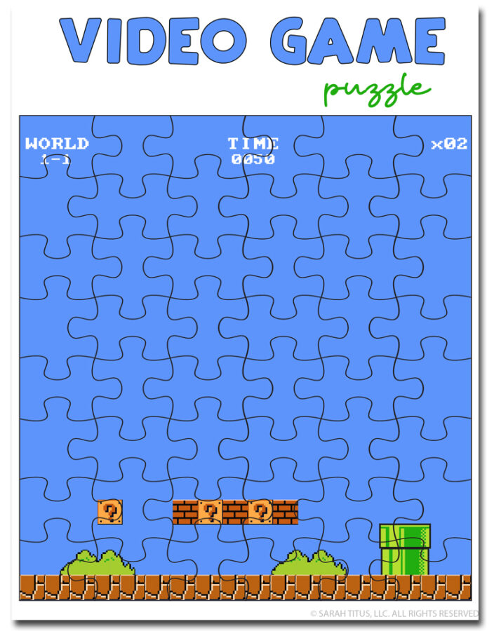 Video Game Puzzle